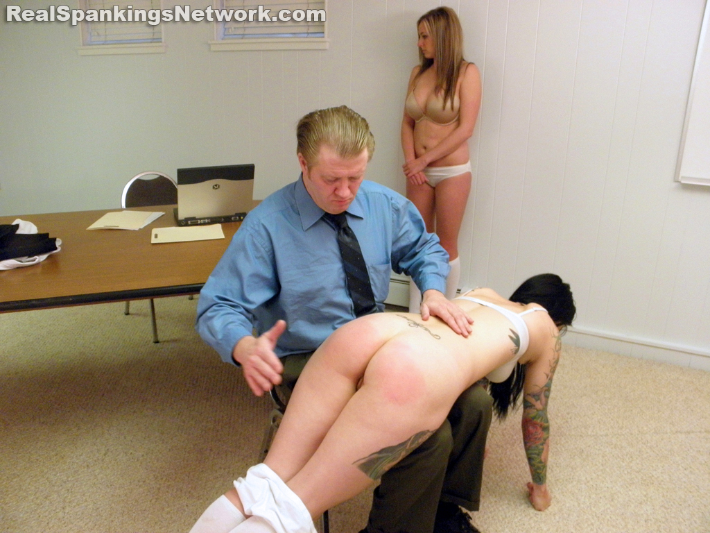 OTK Spankings – RM/HD – Jade and Riley Spanked for Poor Progress Reports (Part 1 of 2)