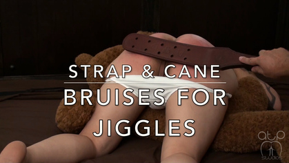 Assume The Position Studios – MP4/HD – THE MASTER,JIGGLES – STRAP AND CANE BRUISES FOR JIGGLES | JUL. 05, 19