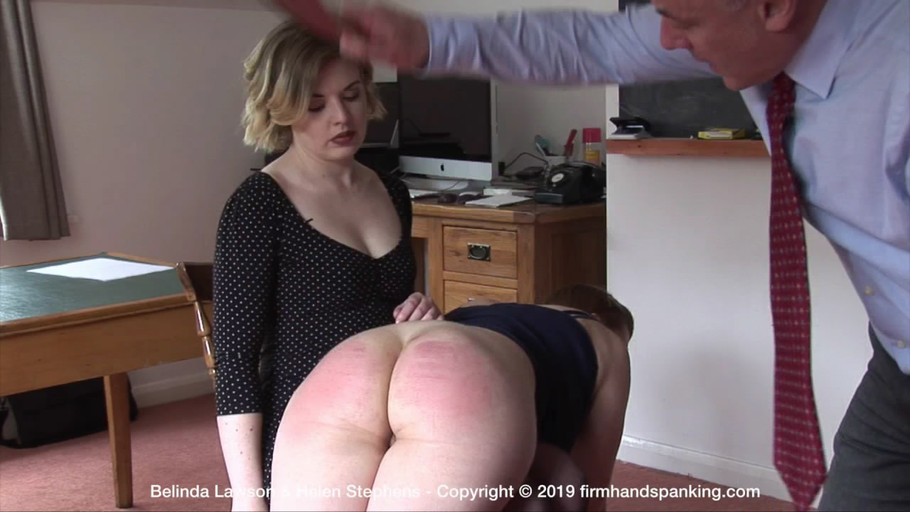 Firm Hand Spanking – MP4/HD – Belinda Lawson – The Institute U/The tables are turned at The Institute as Belinda spanks Helen!