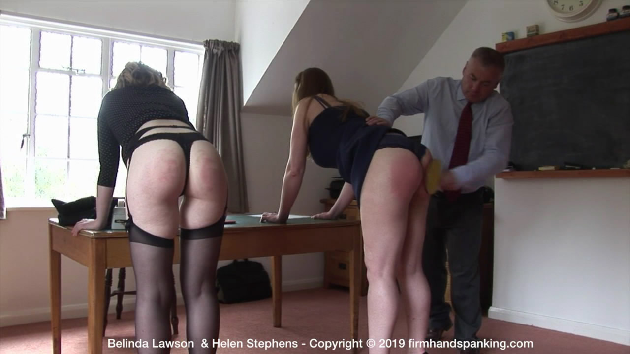 Firm Hand Spanking – MP4/HD – Belinda Lawson – The Institute – W/Belinda Lawson spanked bare bottom with a ping pong paddle, alongside Helen | July 17, 2019