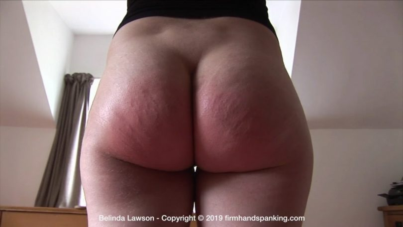 snapshot20190727102500 810x456 - Firm Hand Spanking – MP4/HD – Belinda Lawson - The Institute – Y/A wooden paddle across Belinda Lawson's bottom tests her resolve | July 24, 2019