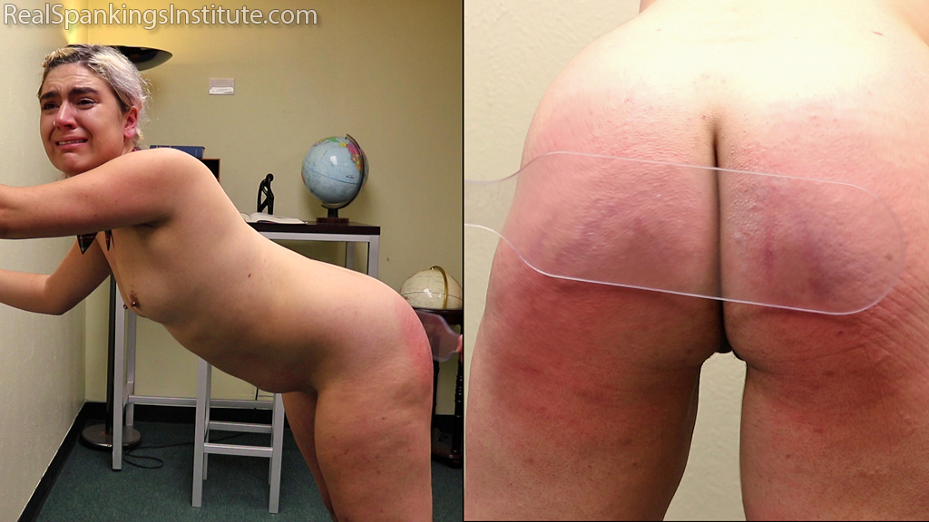 Real Spankings Institute – MP4/Full HD – Stella's Naked Punishment (part 2 of 2)