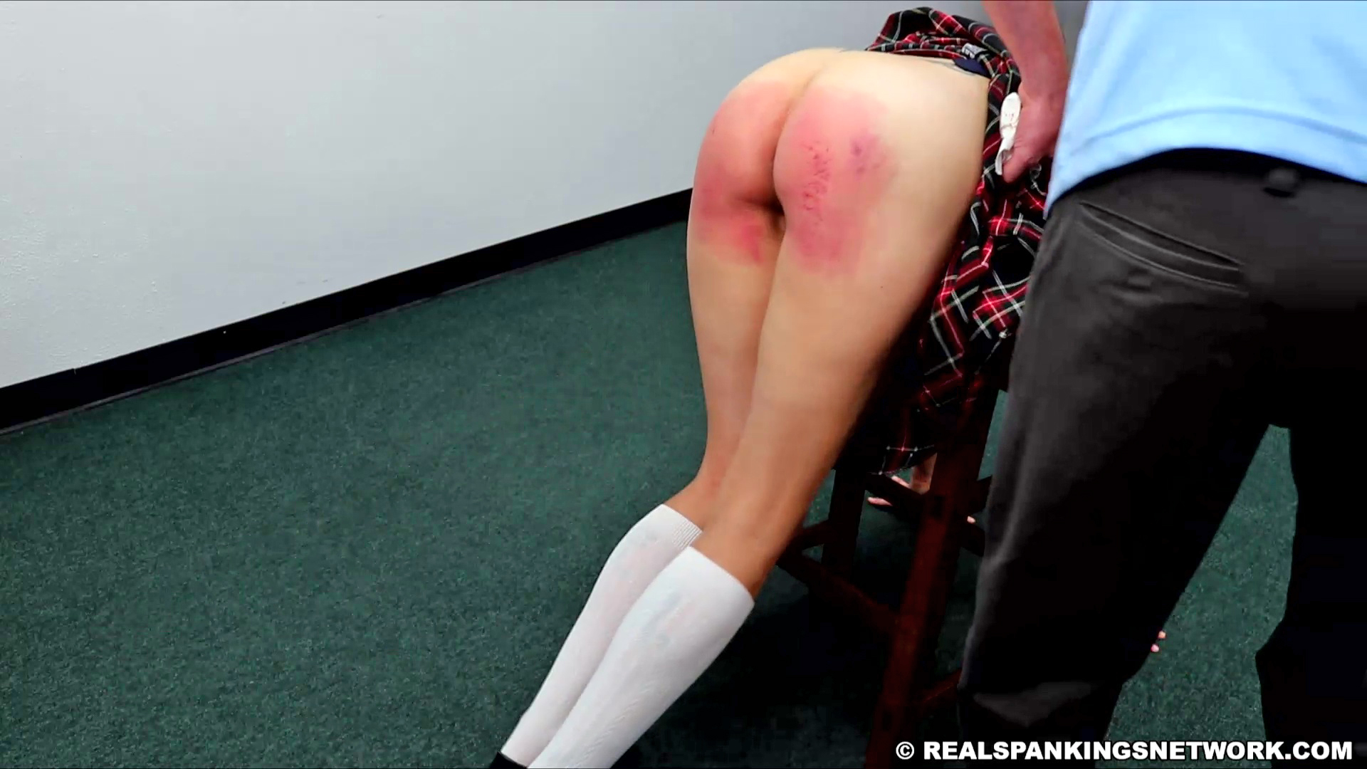 Real Spankings Institute – MP4/Full HD – Gena: Caught with No Panties