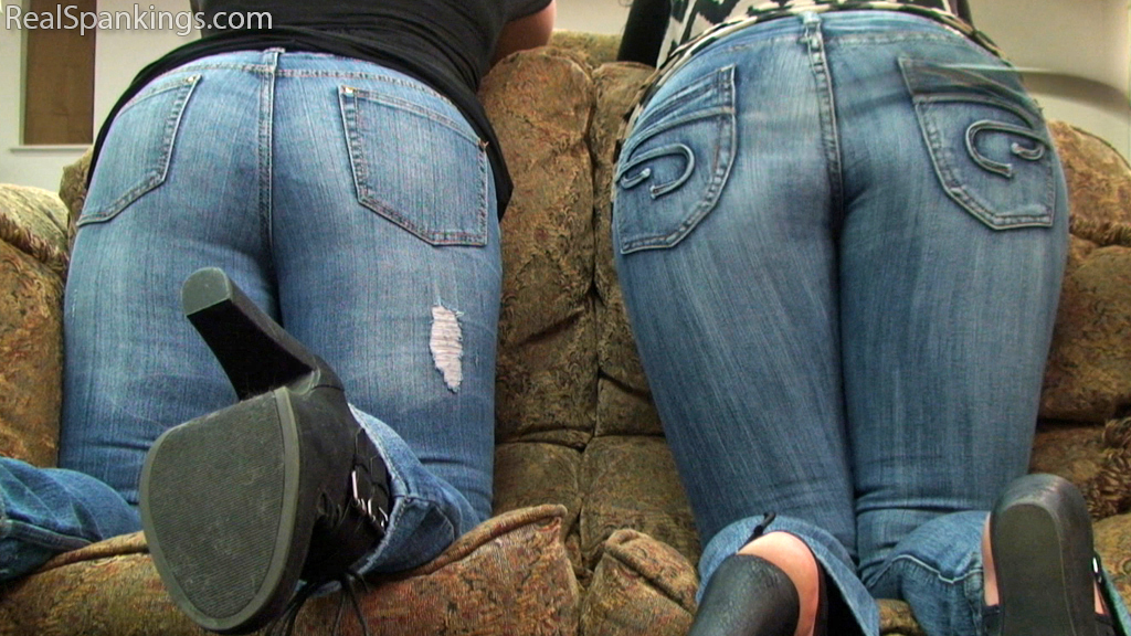 Real Strappings – RM/HD – Betty & Jordyn: Spanked with the Belt (Part 2 of 2)