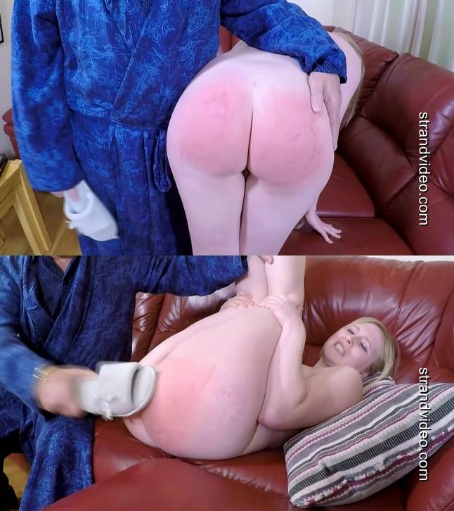 Spanking Sarah – MP4/Full HD – Satine – Satines bedtime slippering REDUCED