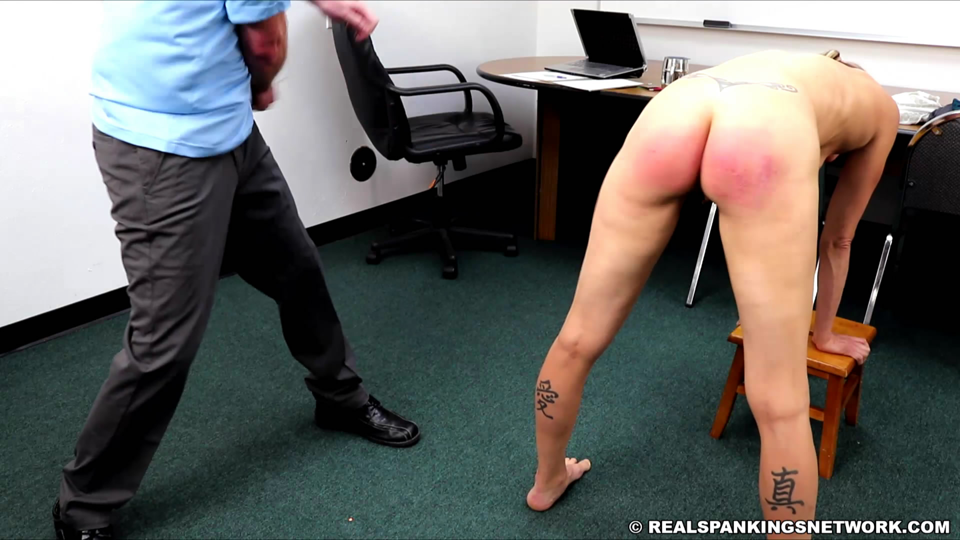 Real Spankings Institute – MP4/Full HD – Gena's Arrival to The Institute | August 14, 2019