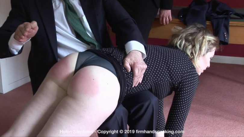 snapshot20190817141243 810x456 - Firm Hand Spanking – MP4/HD – Helen Stephens - The Institute – ZD/Helen Stephens signs up for more bare bottom spanking tests at The Institute   AUG. 16, 19