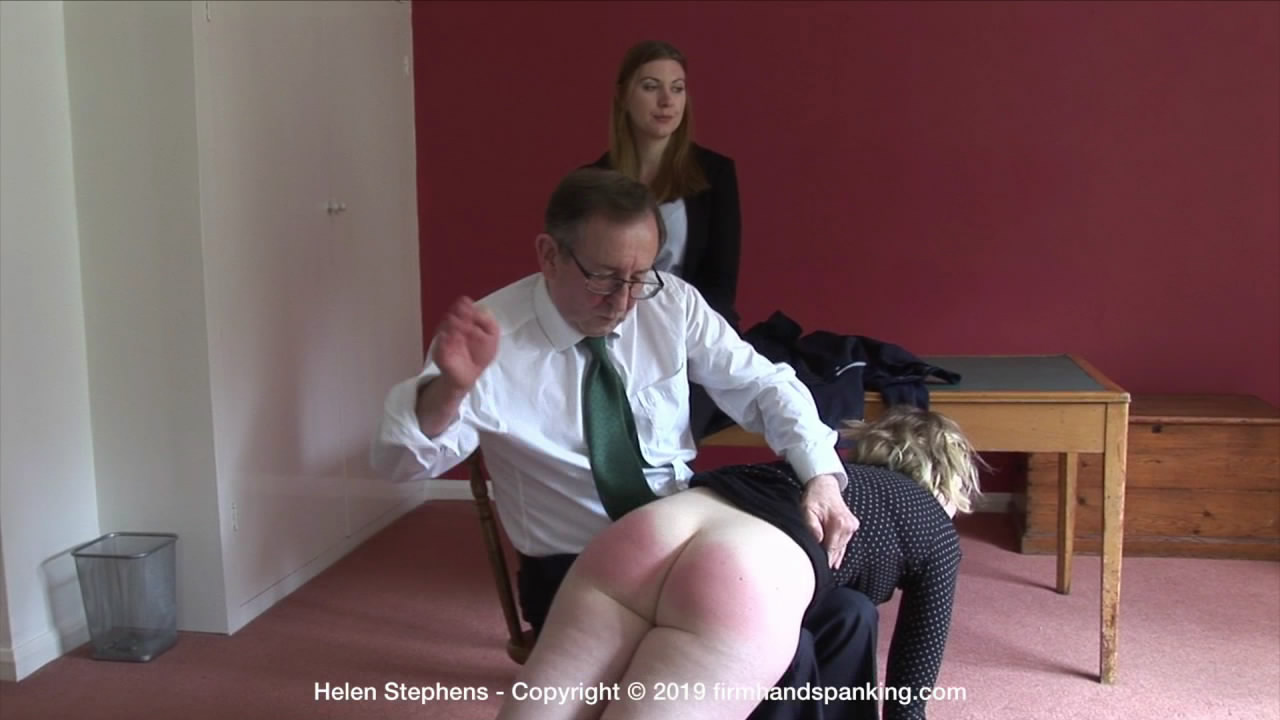 Firm Hand Spanking – MP4/HD – Helen Stephens – The Institute – ZE/A long, hard spanking turns Helen's bottom a deep, bouncing red | Aug 21, 2019