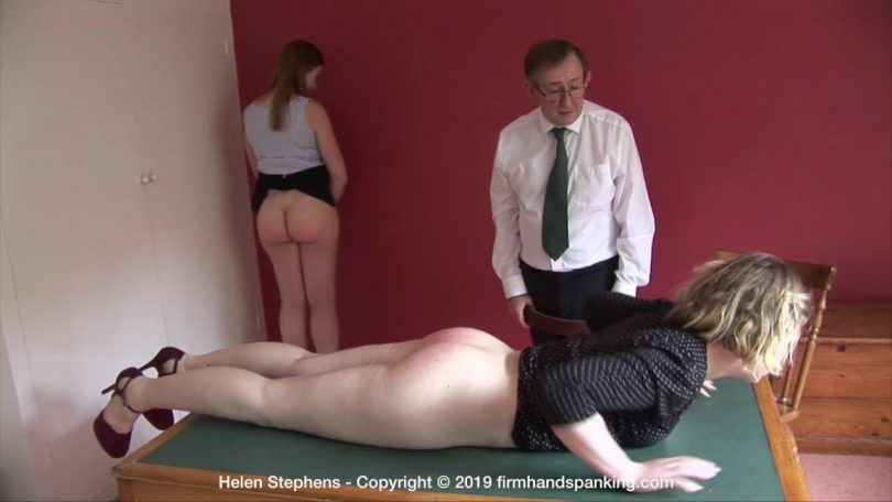 snapshot20190901003127 810x456 - Firm Hand Spanking – MP4/HD – Belinda Lawson - The Institute – ZG/Back over the knee for a high-intensity, fast spanking Belinda feels the burn | Aug 28, 2019
