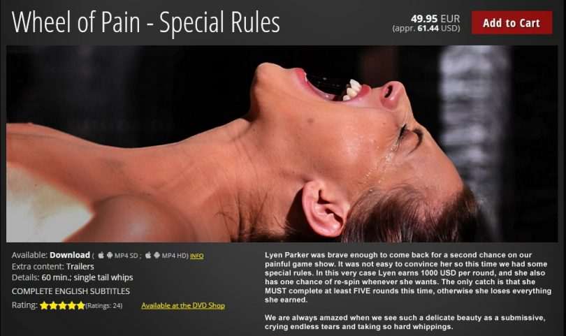 01 1 810x481 - Elite Pain – MP4/HD – Wheel of Pain - Special Rules