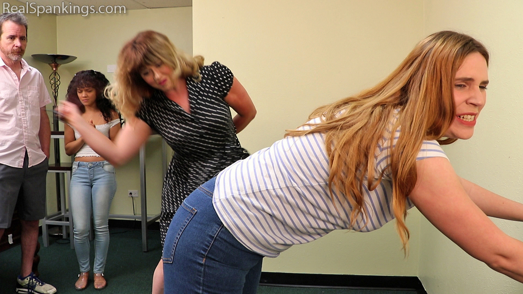 Real Spankings – MP4/Full HD – Paddled Together (Part 1 of 2)