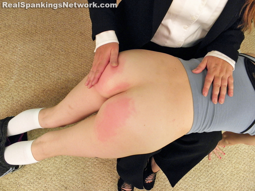 OTK Spankings – RM/HD – Abigail and Allison Spanked OTK by Miss Blake (Part 1 of 2) | September 16, 2019