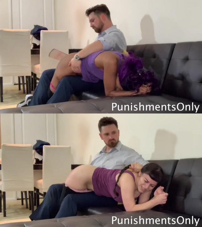 Punishments Only – MP4/Full HD – Cupcake SinClair, Elori Stix – A Thorough Spanking and a Severe Beating