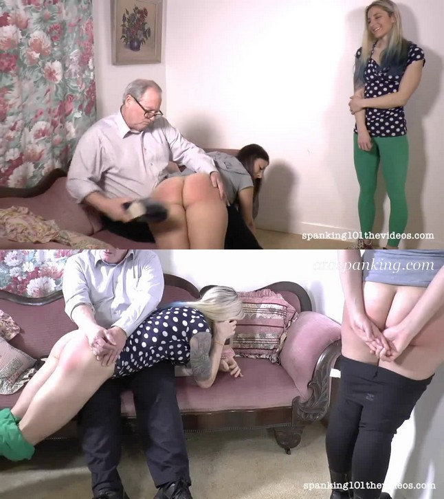 Spanking 101 The Videos – MP4/HD – Sarah and Lily Punished