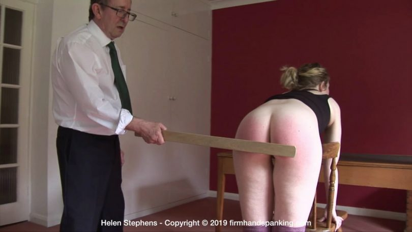 snapshot20190928224941 810x456 - Firm Hand Spanking – MP4/HD – Helen Stephens - The Institute – ZL/A yard stick across Helen's bare bottom delivers a deep burn…  | Sep 18, 2019