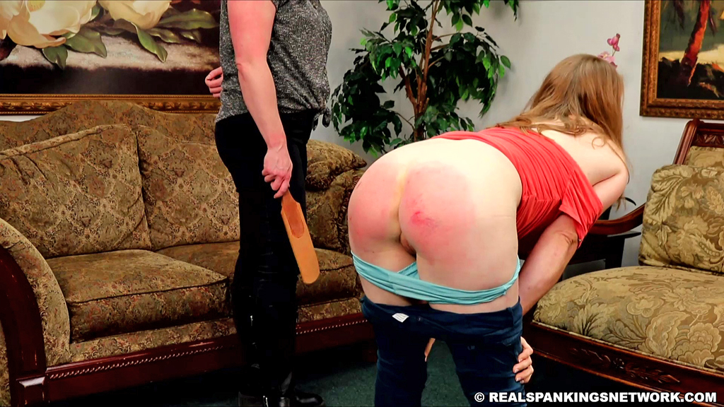 15774 024 - Real Spankings – MP4/Full HD – Kyra's Punishment from Betty | October 21, 2019