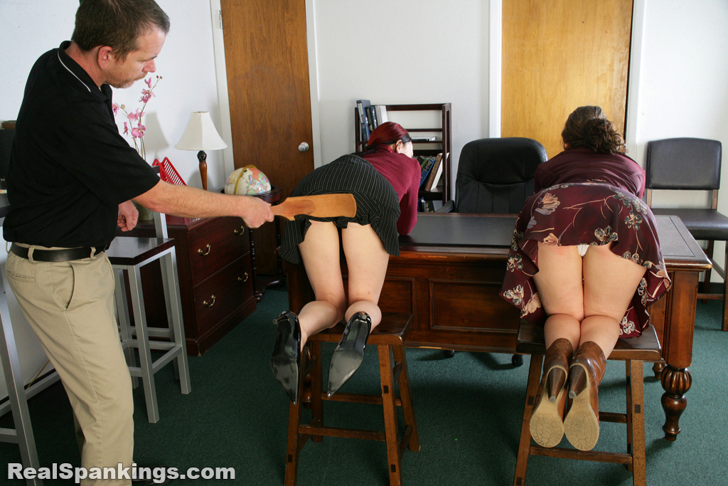 Real Spankings – MP4/Full HD –Spanked Secretaries (Part 1) | October 11, 2019