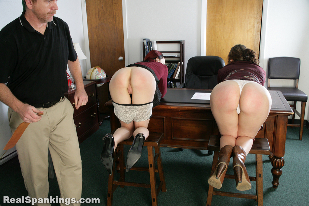 Real Strappings – RM/HD – Spanked Secretaries (Part 2)