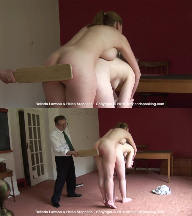 Firm Hand Spanking – MP4/HD – Belinda Lawson – The Institute – ZU/The noisy crack of a wooden paddle on Belinda's bouncing bare bottom! |  Oct 18, 2019