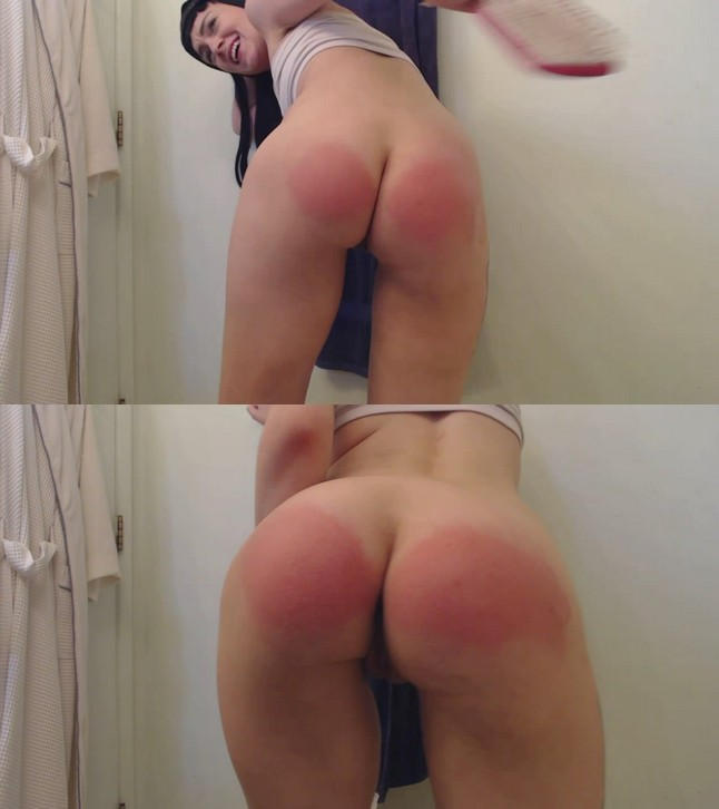 2019 10 21 150043 - MP4/HD - Abigail Annalee - Hard Spanks With My Hairbrush