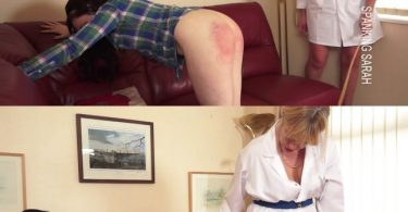 Spanking Sarah – MP4/Full HD – Luna, Sarah Stern – Luna Lazy girl caned