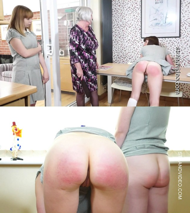 English Spankers – MP4/Full HD – Cherry, Katie Didit, Lulu Lamb – Punished At Home For Smoking At School