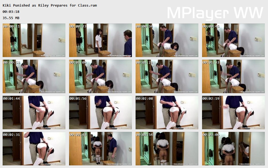Kiki Punished as Riley Prepares for Class Preview - OTK Spankings – RM/HD – Kiki Punished as Riley Prepares for Class | October 09, 2019