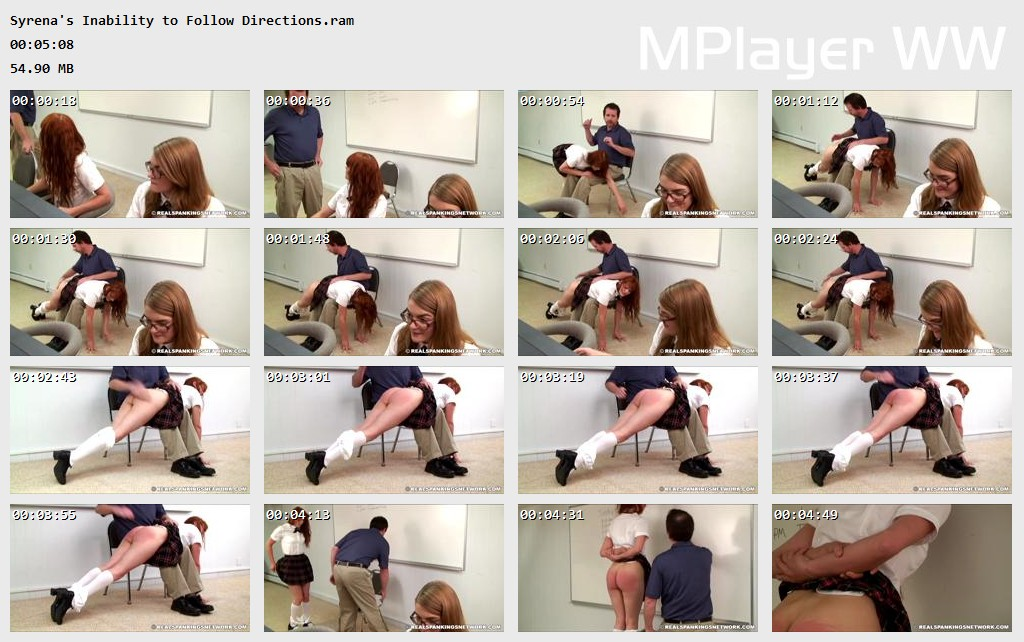 Syrenas Inability to Follow Directions Preview - OTK Spankings – RM/HD – Syrena's Inability to Follow Directions | October 25, 2019