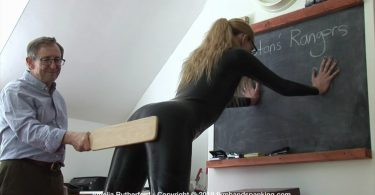 snapshot20191010202406 375x195 - OTK Spankings – RM/HD – Kiki Punished as Riley Prepares for Class | October 09, 2019