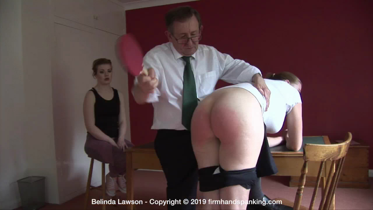 Firm Hand Spanking – MP4/HD – Belinda Lawson – The Institute – ZR/After a hand spanking, Belinda's bubble butt gets a dose of the ping pong paddle | Oct 09, 2019