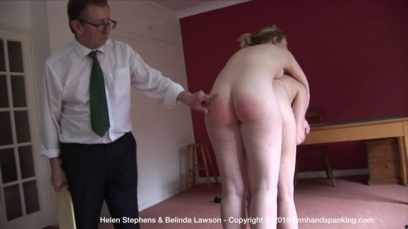 snapshot20191012173558 810x456 - Firm Hand Spanking – MP4/HD – Helen Stephens - The Institute – ZS/Stripped naked and horsed on Belinda's back, Helen is paddled at The Institute! | Oct 11, 2019