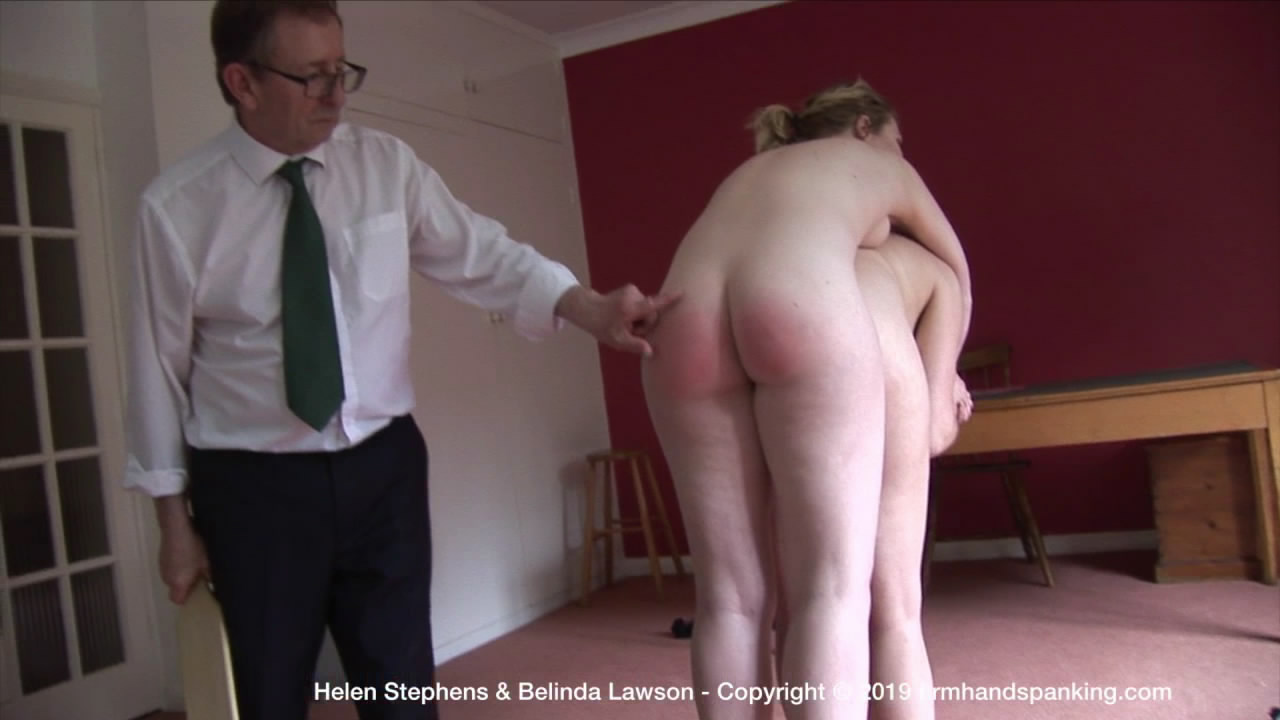 Firm Hand Spanking – MP4/HD – Helen Stephens – The Institute – ZS/Stripped naked and horsed on Belinda's back, Helen is paddled at The Institute! | Oct 11, 2019