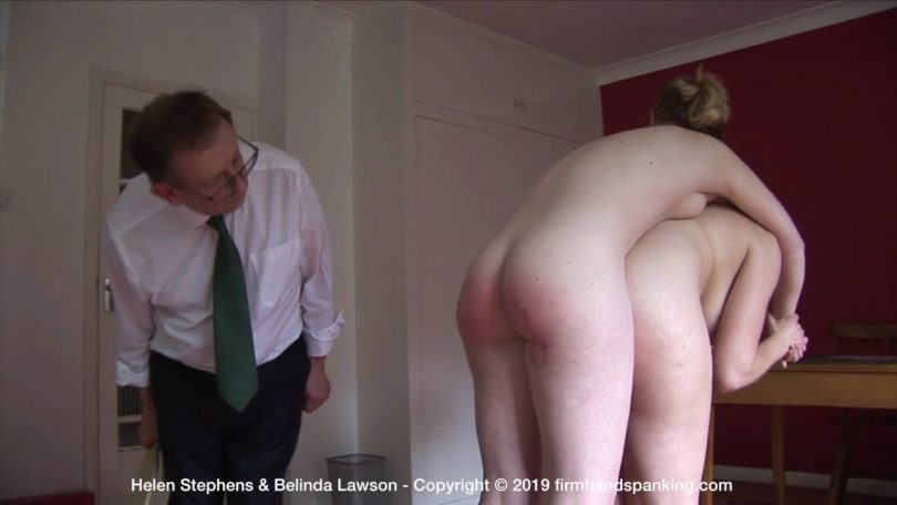 snapshot20191017193653 810x456 - Firm Hand Spanking – MP4/HD – Helen Stephens - The Institute – ZT/Bare bottom paddling tests Helen Stephen's resolve at The Institute | Oct 16, 2019