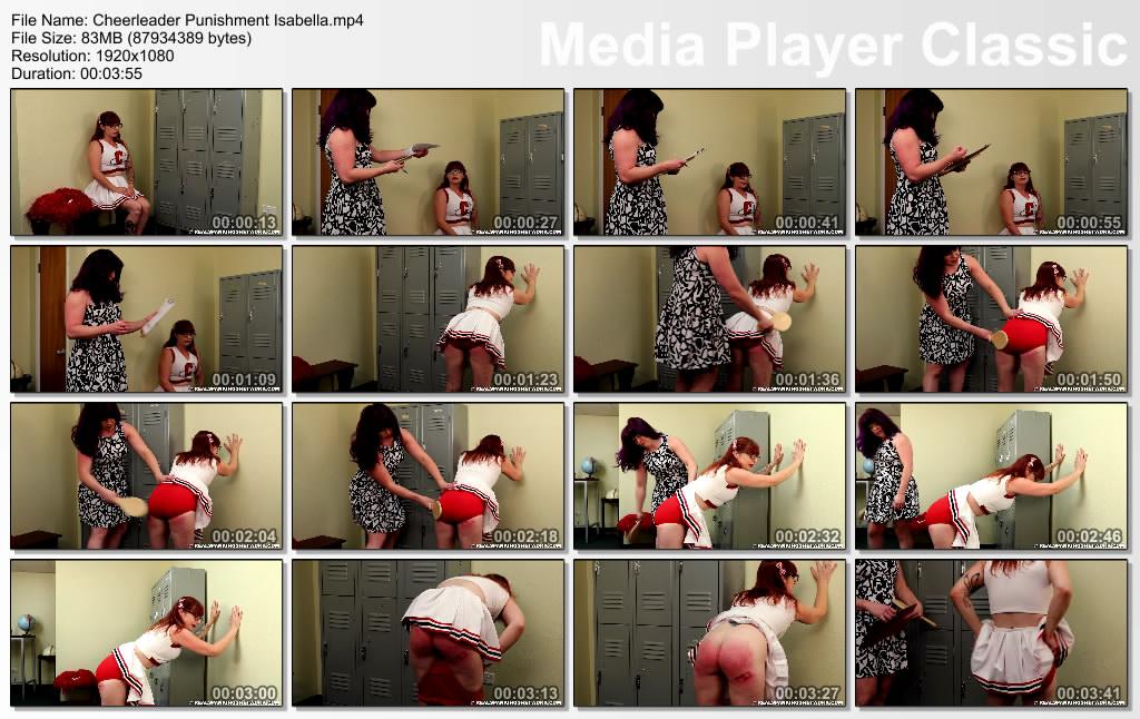 thumbs20191008000135 - Real Spankings – MP4/Full HD – Cheerleader Punishment: Isabella | October 07, 2019