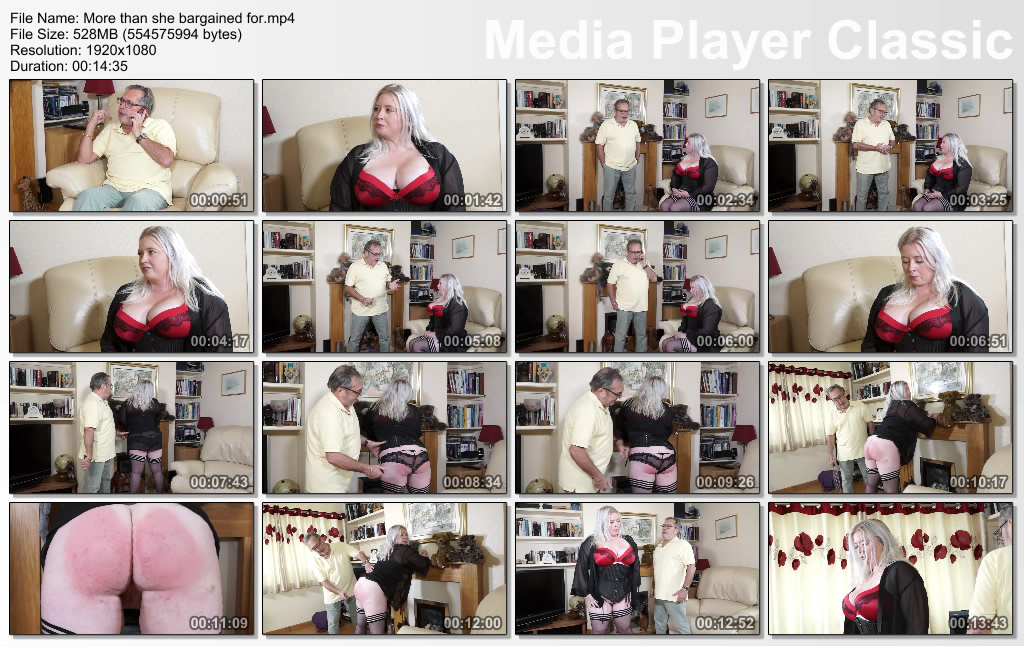 thumbs20191008183801 - Spanking Sarah – MP4/Full HD – More than she bargained for