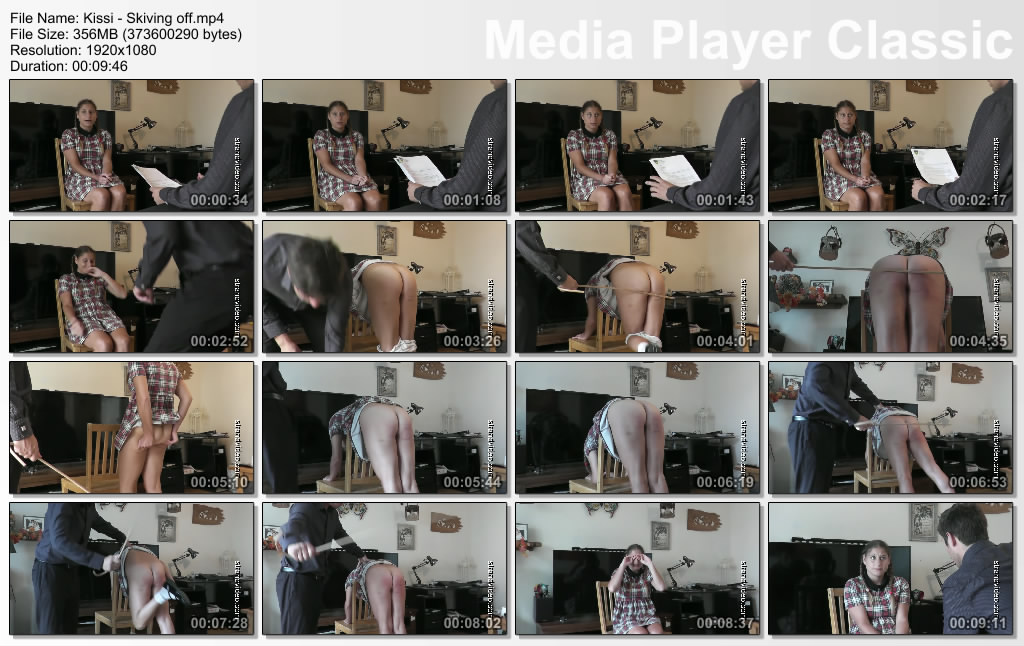 thumbs20191021162417 - Spanking Sarah – MP4/Full HD – Kissi - Skiving off