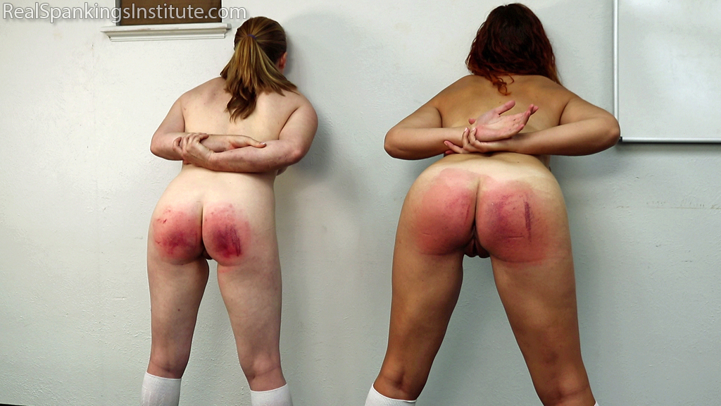 Real Spankings Institute – MP4/Full HD – Maddy & Kyra: Punished by Betty and the Dean (Part 4) | November 01, 2019