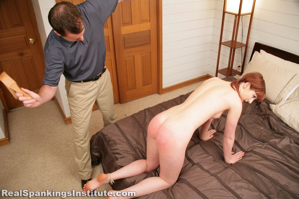 OTK Spankings – RM/HD – Autumn: Pulled from Bathroom and Spanked Nude | November 18, 2019