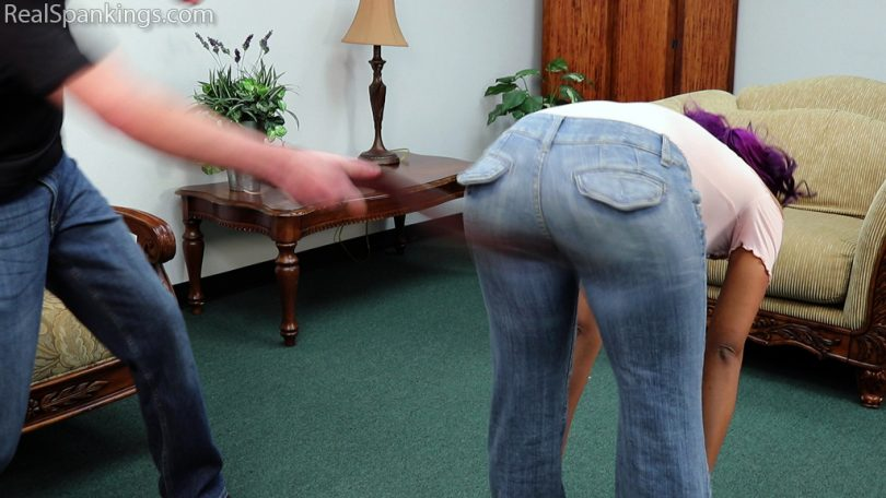 15871 004 810x456 - Real Spankings – MP4/Full HD – A Double Dose with the Belt (Part 1 of 2) | November 25, 2019