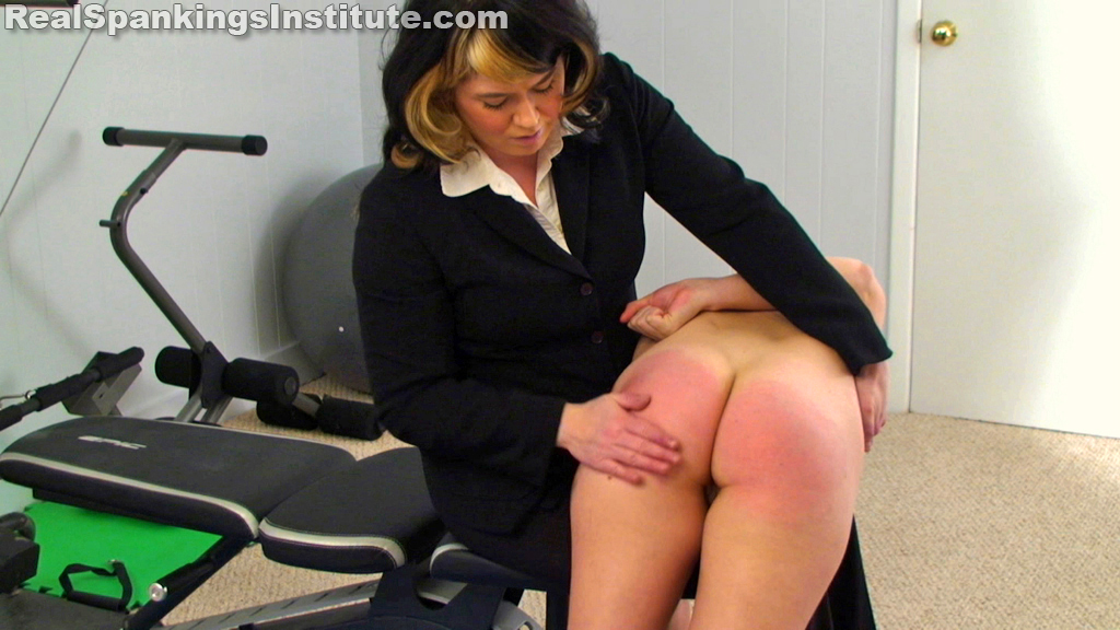 OTK Spankings – RM/HD – Abigail Spanked for No Bra | November 27, 2019
