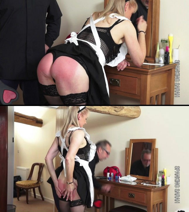 Spanking Sarah – MP4/Full HD – Suzanne Smart – Unladylike Manor Episode 39 The maid takes the pain