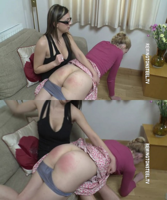 2019 11 17 095557 - Spanking Sarah – MP4/HD – Amelia Jane Rutherford  - Amelia spanked by Sophie at the House of Correction