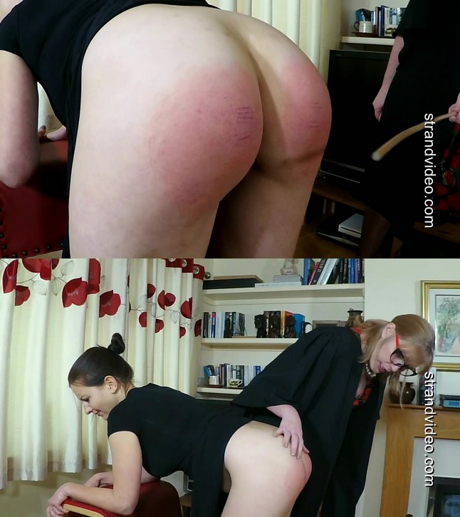 Spanking Sarah – MP4/Full HD – Tindra Frost, Sarah Stern – Tindra Caned at St. Justs