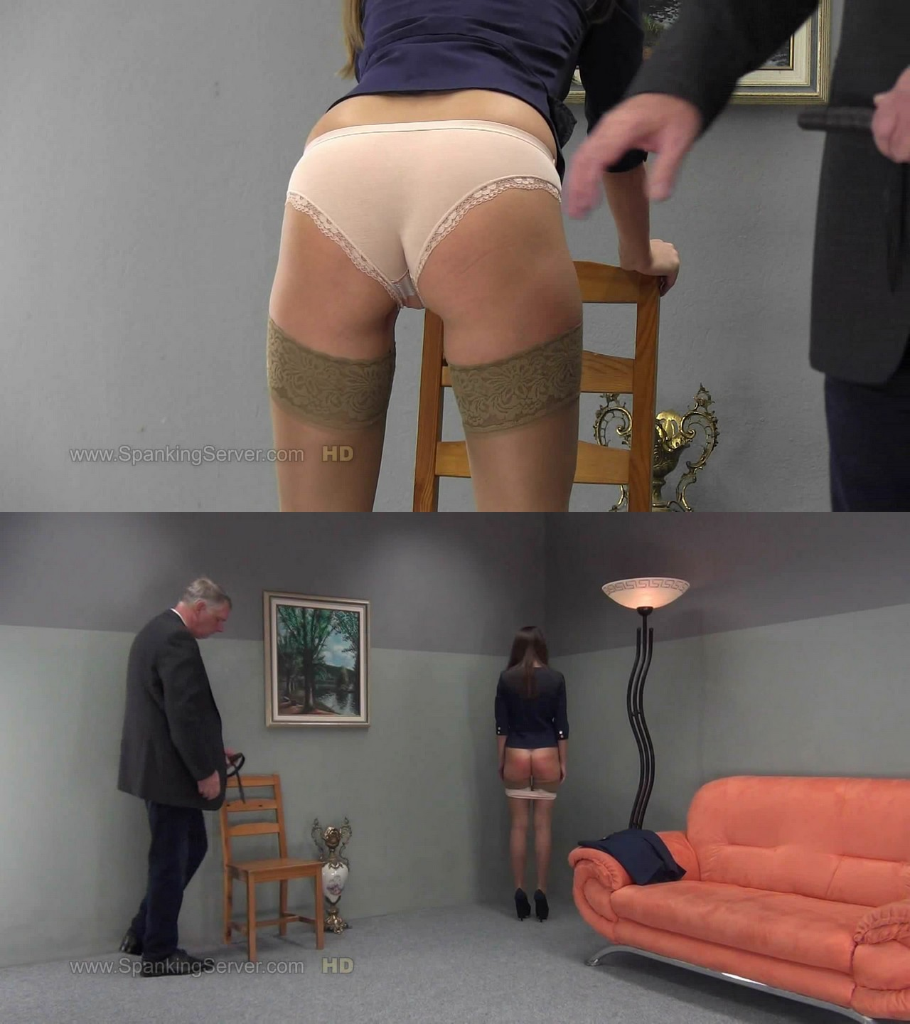 Spanking Server – MP4/Full HD – Tyron