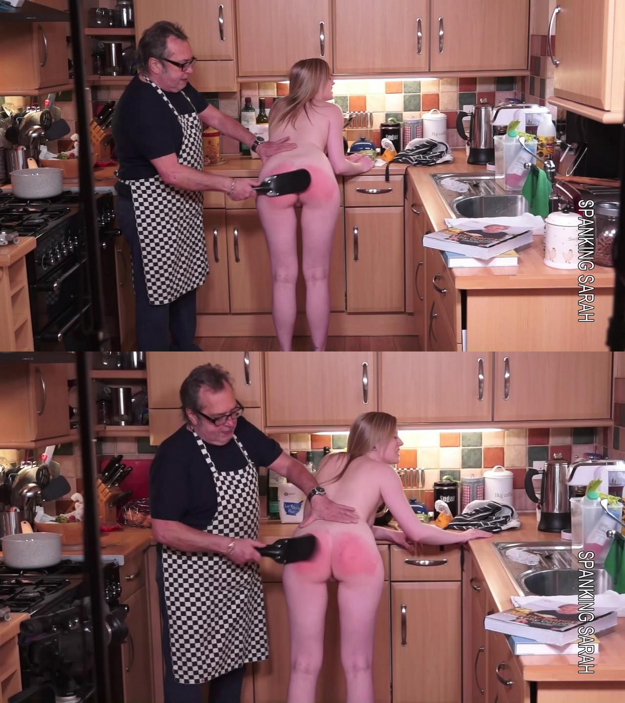 Spanking Sarah – MP4/Full HD – Mr Stern, Satine Spark – Satine and the fruit cake