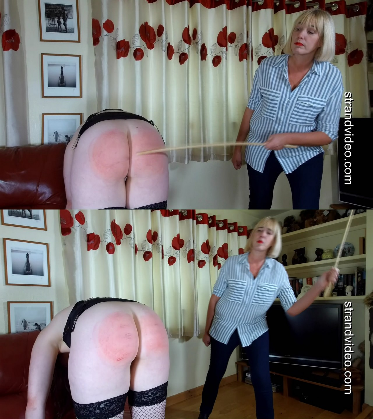 Spanking Sarah – MP4/Full HD – Alexa, Sarah Stern – Bend over