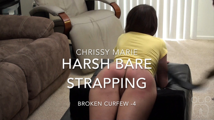 Assume The Position Studios – MP4/HD – The Master, Chrissy Marie – Chrissy Marie HARSH Bare Strapping – Broken Curfew – 4 | NOV. 26, 19