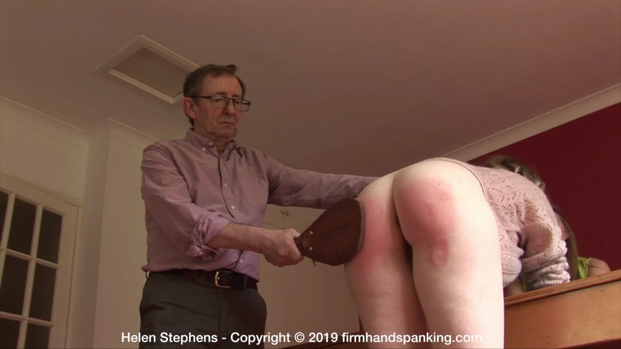 Firm Hand Spanking – MP4/HD – Helen Stephens – The Institute – BF/A leather paddle and Helen Stephens' bare bottom battle in out at The Institute | Nov 13, 2019