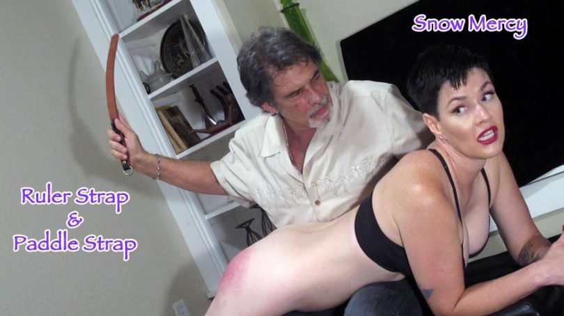 snow mean4 2 main 810x454 - Dallas Spanks Hard – MP4/SD – Snow Mercy - Marked For Meanness 4