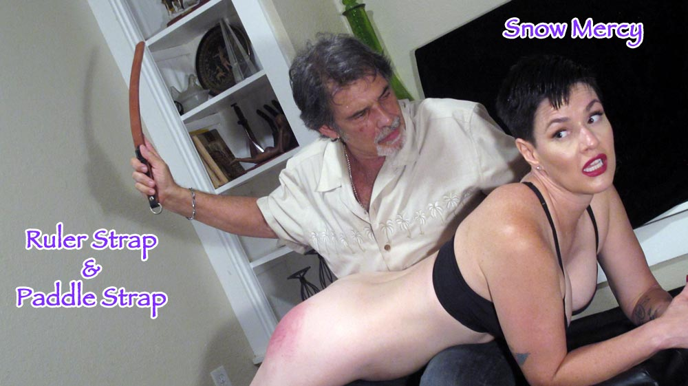 Dallas Spanks Hard – MP4/SD – Snow Mercy – Marked For Meanness 4